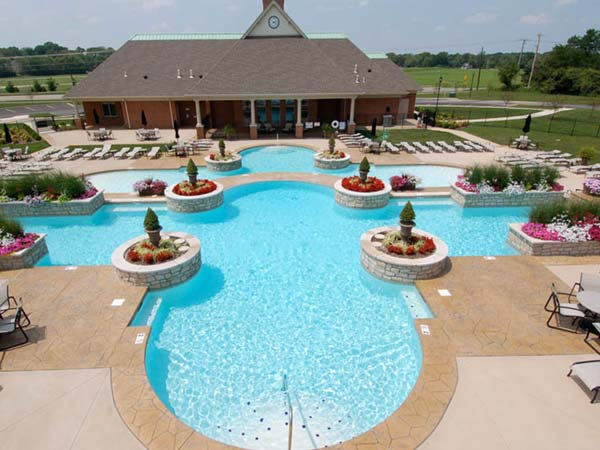 commercial swimming pools