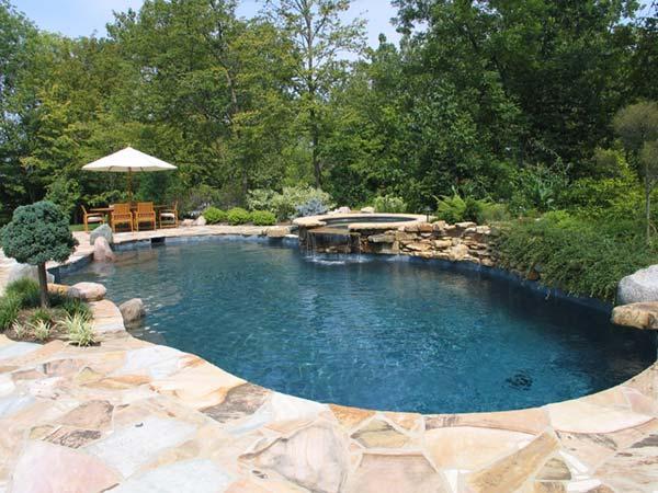 natural gunite pools